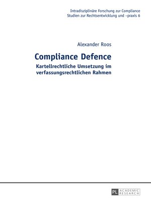 cover image of Compliance Defence