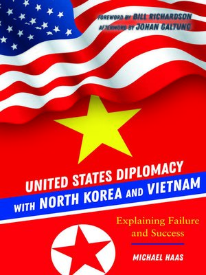 cover image of United States Diplomacy with North Korea and Vietnam
