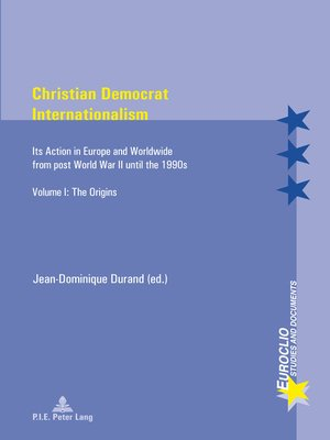 cover image of Christian Democrat Internationalism