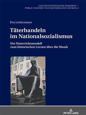 cover image of Taeterhandeln im Nationalsozialismus