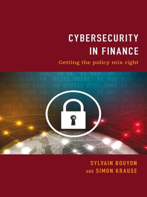 cover image of Cybersecurity in Finance
