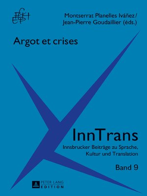 cover image of Argot et crises