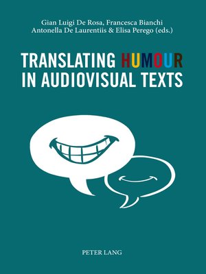 cover image of Translating Humour in Audiovisual Texts