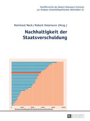 cover image of Nachhaltigkeit der Staatsverschuldung