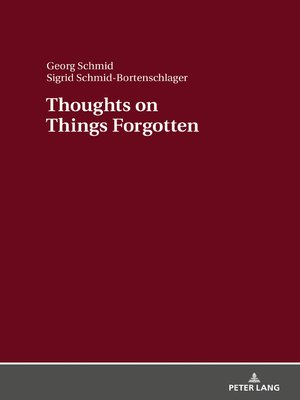 cover image of Thoughts on Things Forgotten
