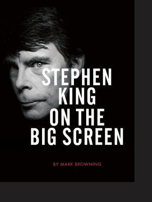 cover image of Stephen King on the Big Screen