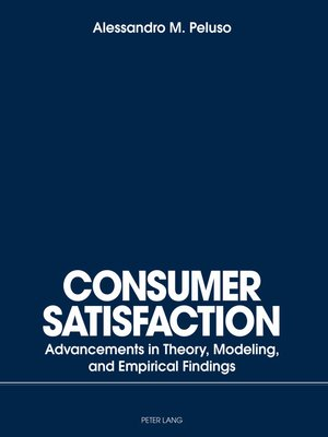 cover image of Consumer Satisfaction