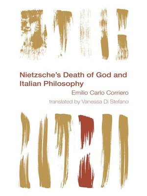 cover image of Nietzsche's Death of God and Italian Philosophy