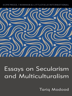 cover image of Essays on Secularism and Multiculturalism