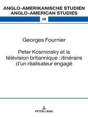 cover image of Peter Kosminsky et la télévision britannique