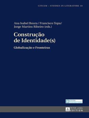 cover image of Construção de Identidade(s)