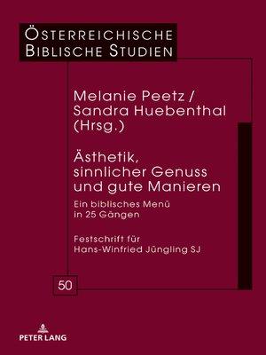 cover image of Aesthetik, sinnlicher Genuss und gute Manieren