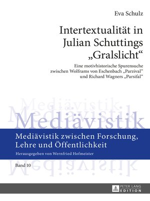 cover image of Intertextualitaet in Julian Schuttings «Gralslicht»