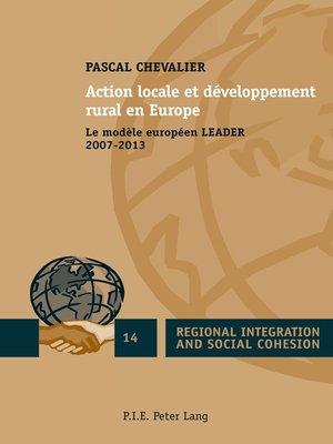 cover image of Action locale et développement rural en Europe