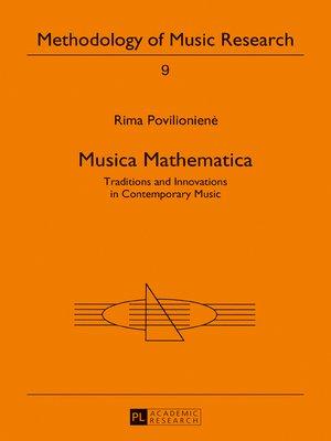 cover image of Musica Mathematica
