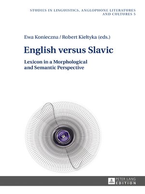 cover image of English versus Slavic