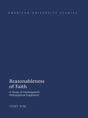 cover image of Reasonableness of Faith