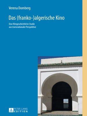 cover image of Das (franko-)algerische Kino