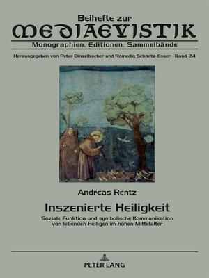 cover image of Inszenierte Heiligkeit