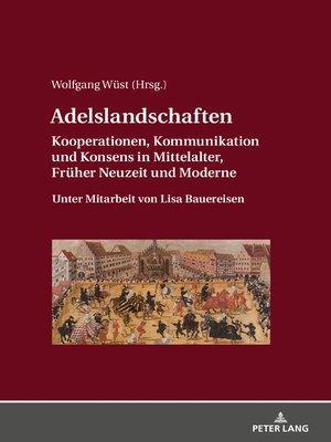 cover image of Adelslandschaften
