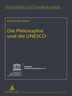 cover image of Die Philosophie und die UNESCO