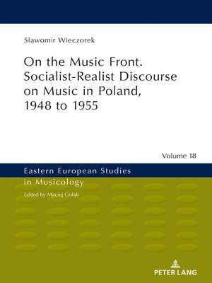 cover image of On the Music Front. Socialist-Realist Discourse on Music in Poland, 1948 to 1955