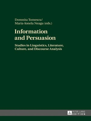 cover image of Information and Persuasion