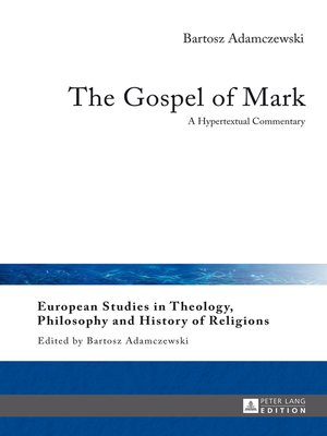 cover image of The Gospel of Mark
