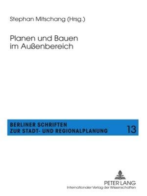 cover image of Planen und Bauen im Außenbereich