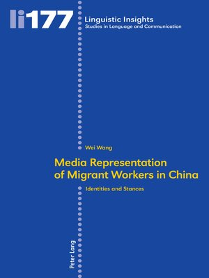 cover image of Media representation of migrant workers in China
