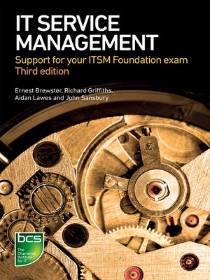 cover image of IT Service Management