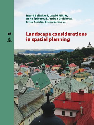 cover image of Landscape Considerations in Spatial Planning