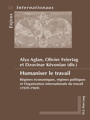 cover image of Humaniser le travail