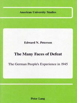 cover image of The Many Faces of Defeat