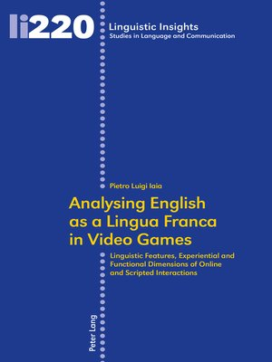 cover image of Analysing English as a Lingua Franca in Video Games