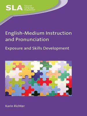 cover image of English-Medium Instruction and Pronunciation