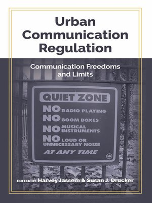 cover image of Urban Communication Regulation