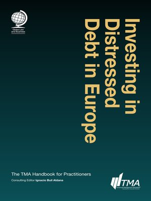 cover image of Investing in Distressed Debt in Europe