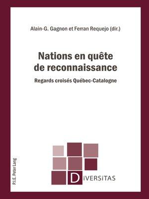 cover image of Nations en quête de reconnaissance