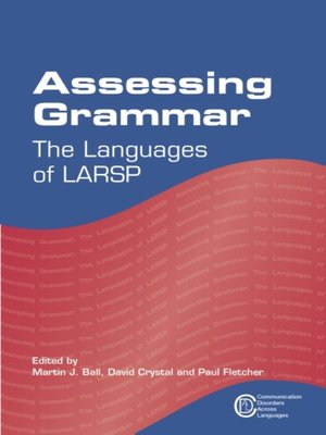 cover image of Assessing Grammar