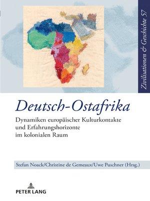 cover image of Deutsch-Ostafrika