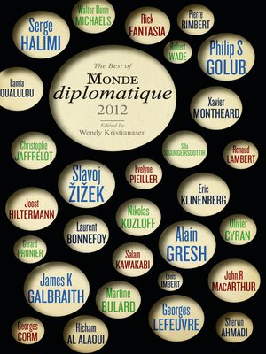 cover image of The Best of Le Monde diplomatique 2012