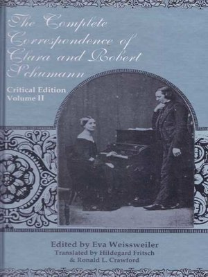 cover image of The Complete Correspondence of Clara and Robert Schumann