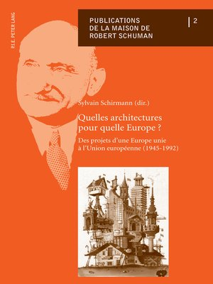 cover image of Quelles architectures pour quelle Europe ?