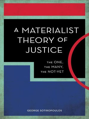 cover image of A Materialist Theory of Justice