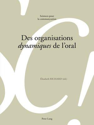 cover image of Des organisations «dynamiques» de loral