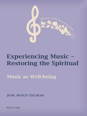 cover image of Experiencing Music  Restoring the Spiritual