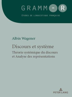 cover image of Discours et système