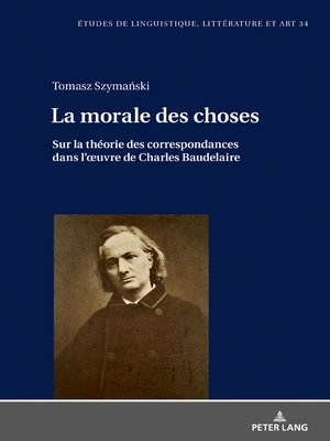 cover image of La morale des choses