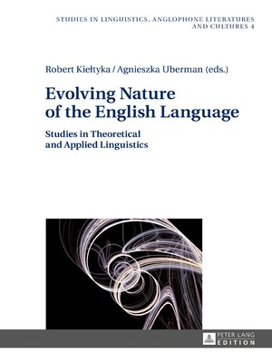 cover image of Evolving Nature of the English Language
